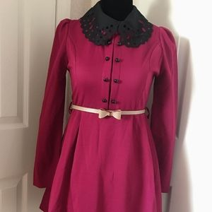 Dresses & Skirts - Beautiful maroon long sleeve dress